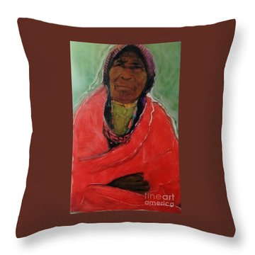 Amazing Grace Throw Pillow by FeatherStone Studio Julie A Miller