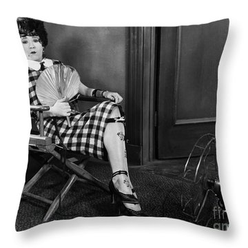 Amazing Mazie, 1925 Throw Pillow by Granger