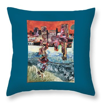 Amazing Places Throw Pillow