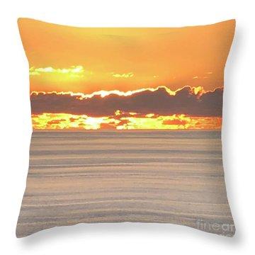 Amazing Sunset Throw Pillow