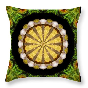 Throw Pillow featuring the photograph Amazon Kaleidoscope by Debbie Stahre