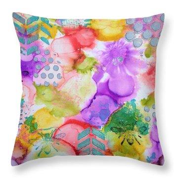 Amazzzing Throw Pillow