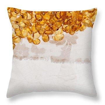 Amber #7863 Throw Pillow