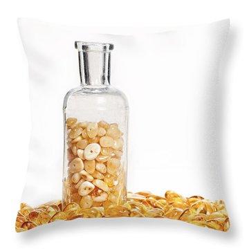 Amber #7900 Throw Pillow