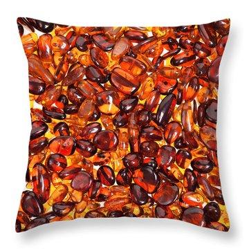 Amber #7960 Throw Pillow