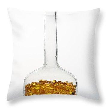 Amber #8198 Throw Pillow