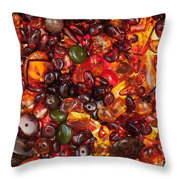Amber #9112 Throw Pillow