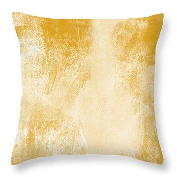 Amber Waves Throw Pillow