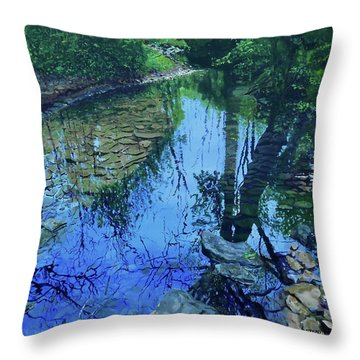 Amberly Creek Throw Pillow
