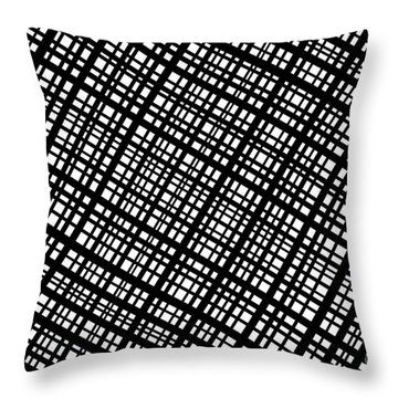 Throw Pillow featuring the digital art Ambient 35 by Bruce Stanfield