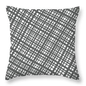 Throw Pillow featuring the digital art Ambient 36 by Bruce Stanfield