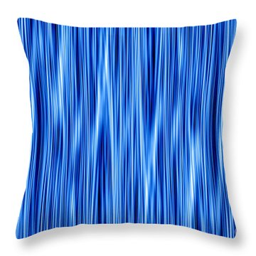 Throw Pillow featuring the digital art Ambient 8 by Bruce Stanfield