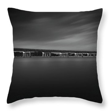 Throw Pillow featuring the photograph Amelia Island by Peter Lakomy