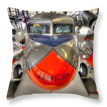 American 3 Throw Pillow
