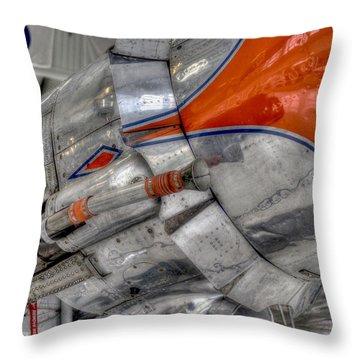 American 4plane, Airplane, Vintage Plane, War Plane, Museum Plane, Air Plane Museum, Air Craft. Cali Throw Pillow