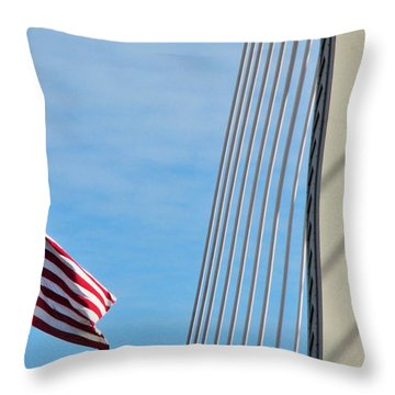 American Afternoon Throw Pillow by Martin Cline