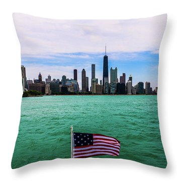 American Chi 2 Throw Pillow