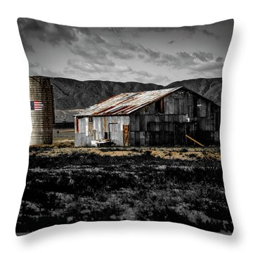 American Cylo - Lancaster, California  Throw Pillow