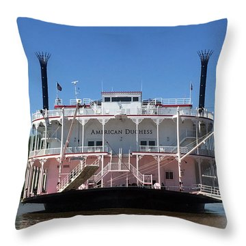 American Duchess Throw Pillow