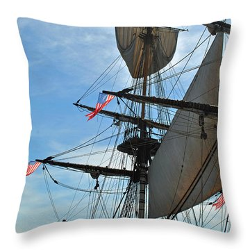 American Hermione Throw Pillow