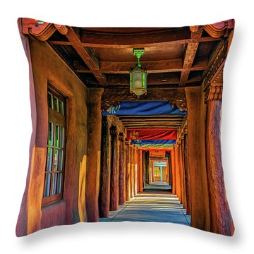 American Institute Of Indian Arts Throw Pillow