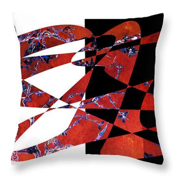 American Intellectual 6 Throw Pillow by David Bridburg