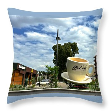 American Italy II- Latina Throw Pillow