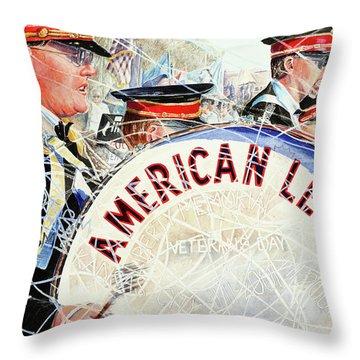 American Legion Throw Pillow