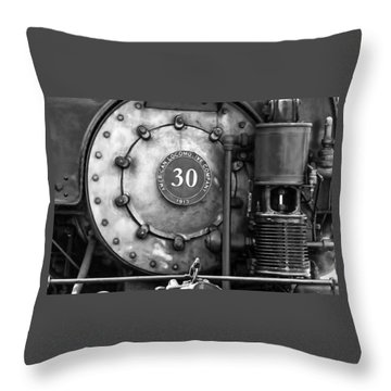 American Locomotive Company #30 Throw Pillow
