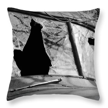 American Outlaw Throw Pillow