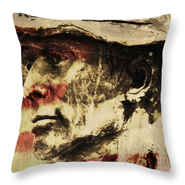 American Patriot Throw Pillow by Kathleen K Parker