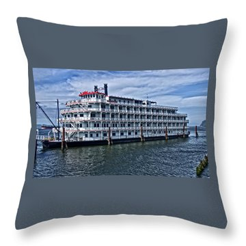 Throw Pillow featuring the photograph American Pride by Thom Zehrfeld