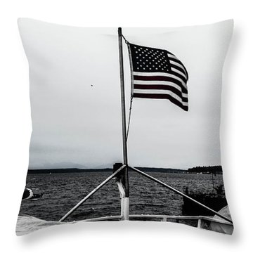 American Seattle Throw Pillow