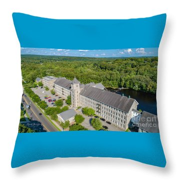 American Thread Mill #2 Throw Pillow