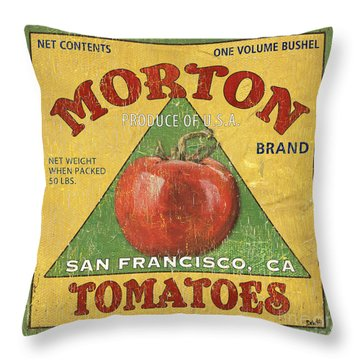 American Veggies 2 Throw Pillow