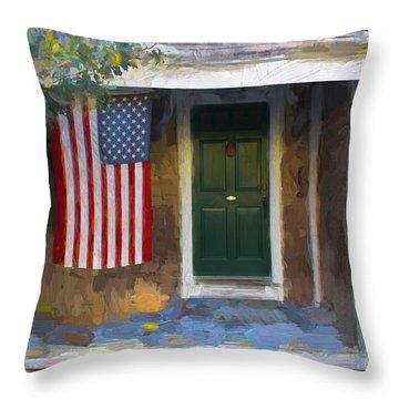 Americana Series 14 Throw Pillow