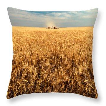 America's Breadbasket Throw Pillow