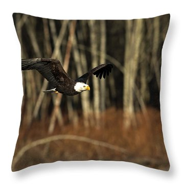 America's Finest Throw Pillow