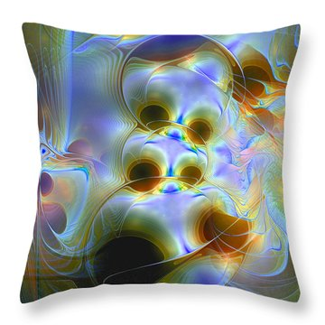 Amiable Catharsis Throw Pillow