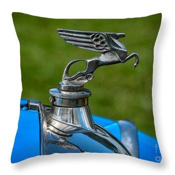 Amilcar Pegasus Emblem Throw Pillow by Adrian Evans
