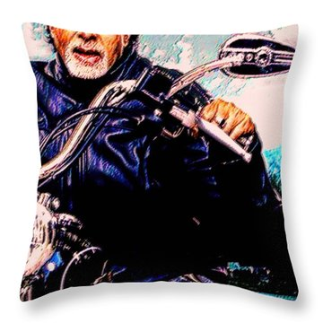 Amitabh Bachchan - Living Legend Throw Pillow
