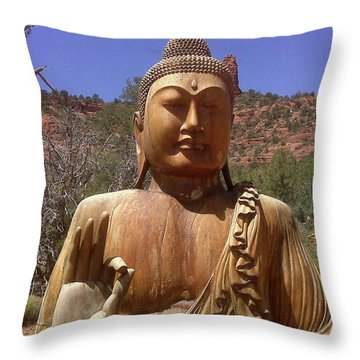 Amitabha Throw Pillow