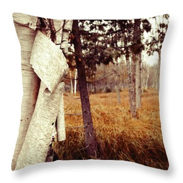Among The Tall Grass Throw Pillow