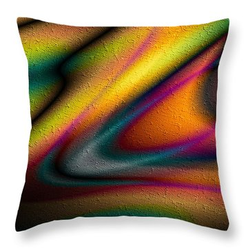 Oscuro Amor Throw Pillow