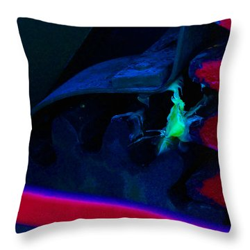 Amorphous Abstraction Throw Pillow by R Kyllo