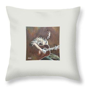 Amos Lee Throw Pillow