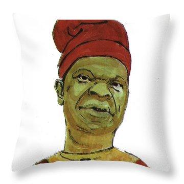 Amos Tutuola Throw Pillow