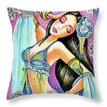 Amrita Throw Pillow