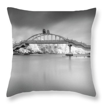 Amritasetu Throw Pillow