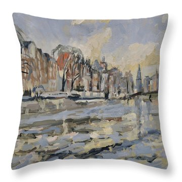 Amstel Amsterdam Throw Pillow